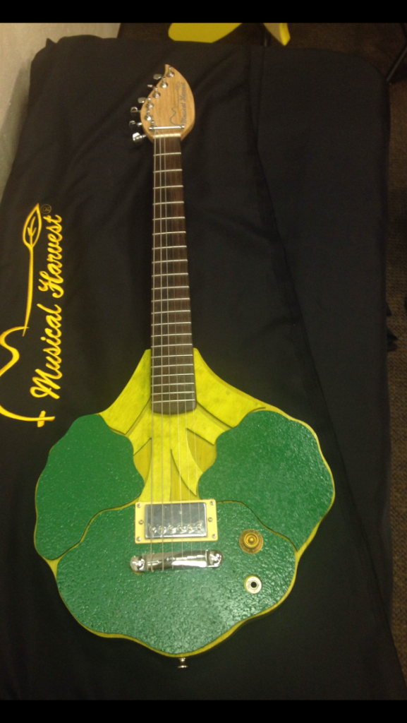 Broccoli Guitar for First Press Charity