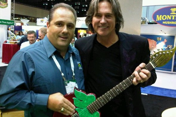 Doug Ranno and Billy Dean at PMA