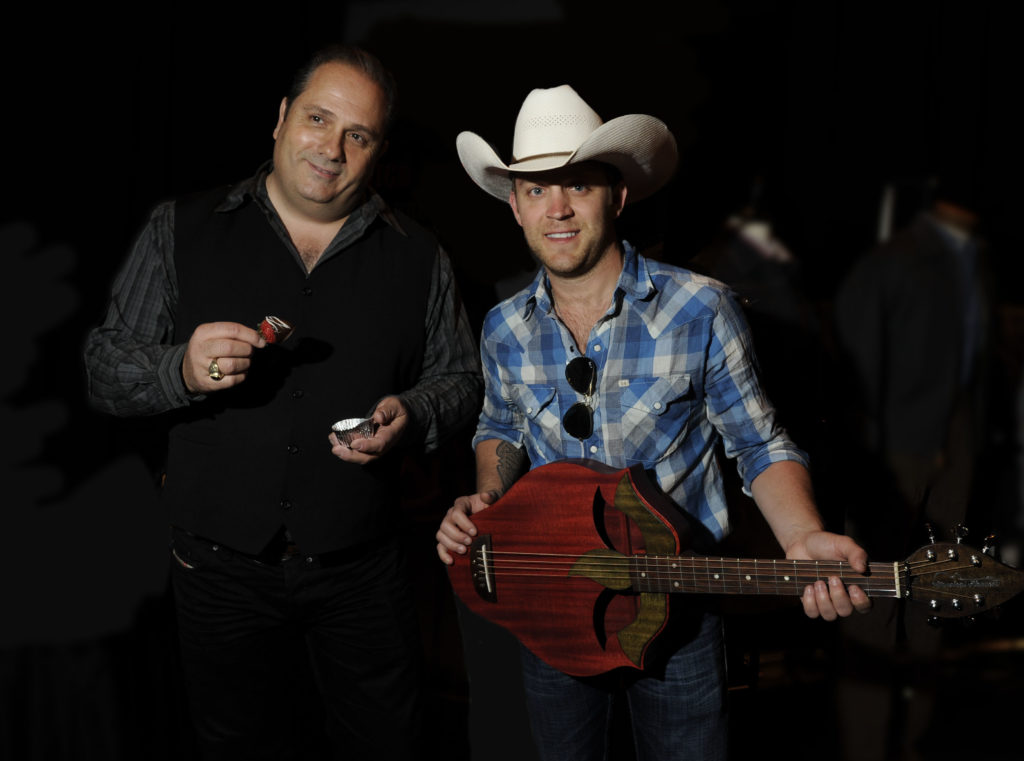 30 of 567     Print all In new window Justin Moore and Doug Ranno at the AMC Awards in LV