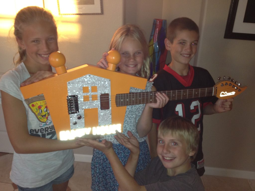Musical Harvest Family House Guitar for Families dealing with Cancer Charity